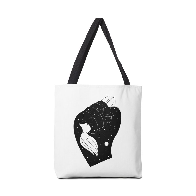 Insomnia Accessories Tote Bag Bag by PENARULIT illustration