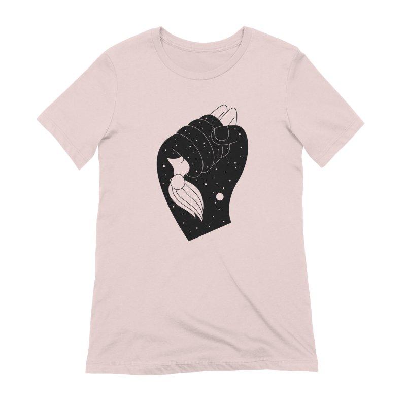 Insomnia Women's Extra Soft T-Shirt by Ekaterina Zimodro's Artist Shop