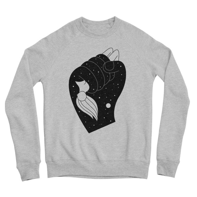 Insomnia Women's Sponge Fleece Sweatshirt by PENARULIT illustration