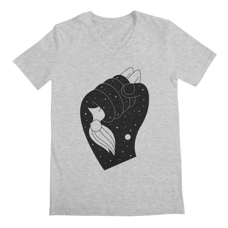Insomnia Men's Regular V-Neck by PENARULIT illustration