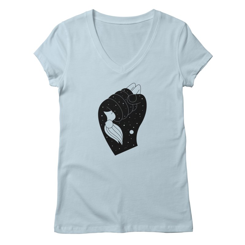 Insomnia Women's V-Neck by PENARULIT illustration