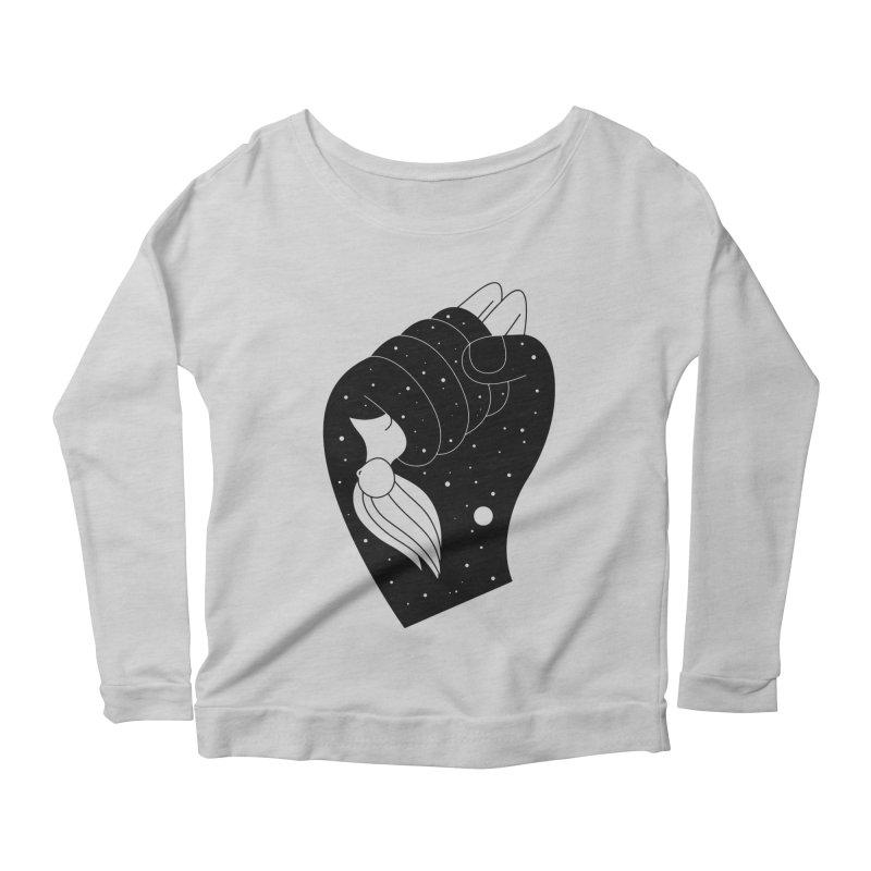 Insomnia Women's Scoop Neck Longsleeve T-Shirt by PENARULIT illustration