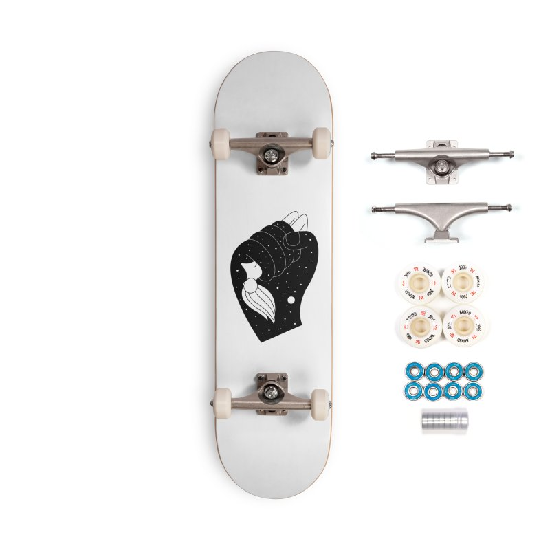 Insomnia Accessories Complete - Premium Skateboard by PENARULIT illustration