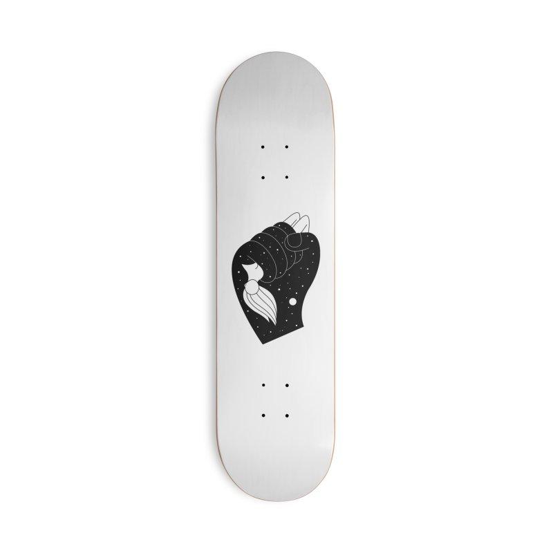 Insomnia Accessories Skateboard by PENARULIT illustration