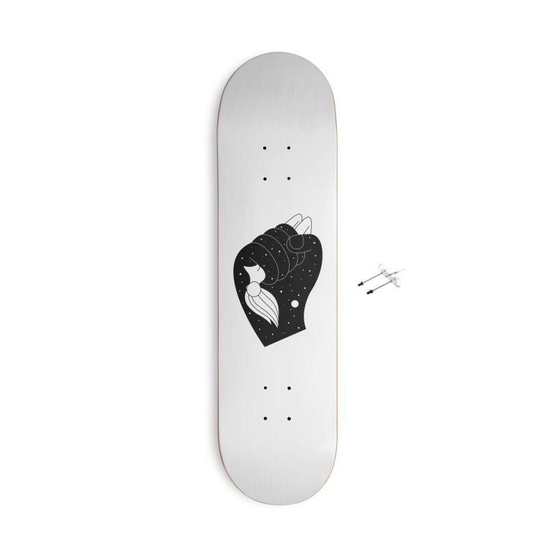 Insomnia Accessories Skateboard by PENARULIT illustration