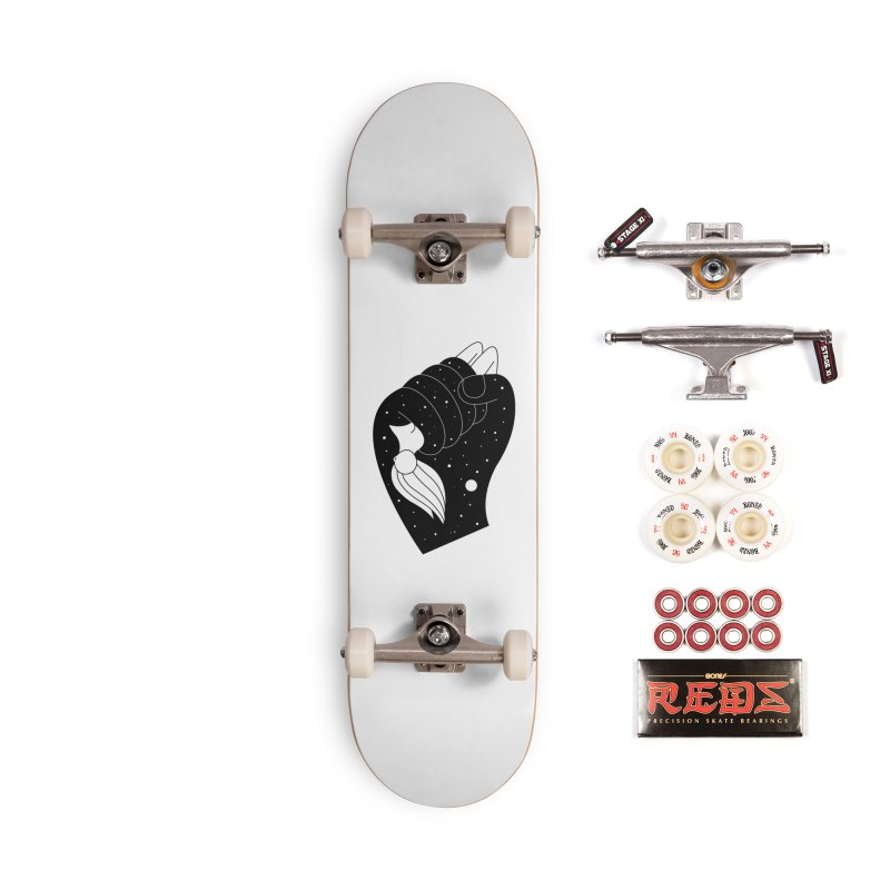 Insomnia Accessories Complete - Pro Skateboard by PENARULIT illustration