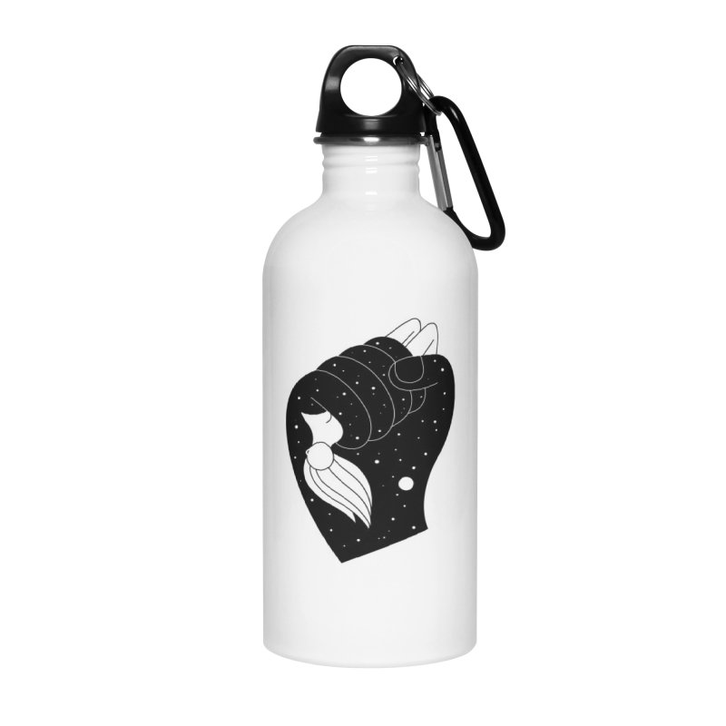 Insomnia Accessories Water Bottle by PENARULIT illustration