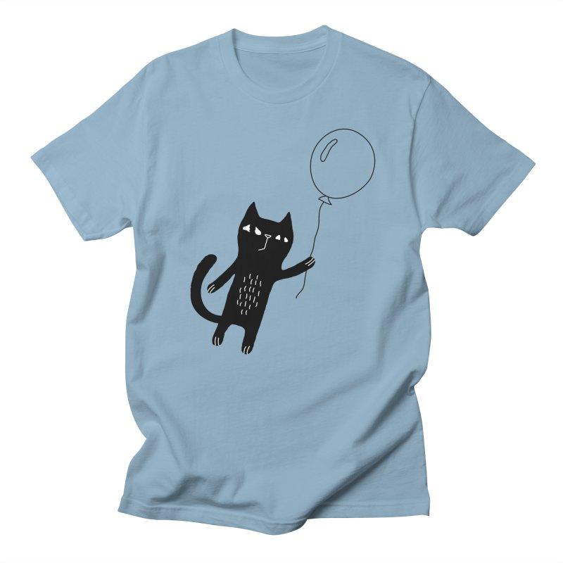 Flying Cat Men's Regular T-Shirt by PENARULIT's Artist Shop