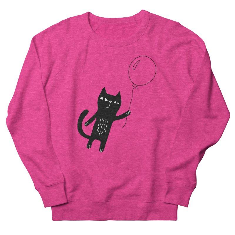 Flying Cat Men's French Terry Sweatshirt by PENARULIT's Artist Shop
