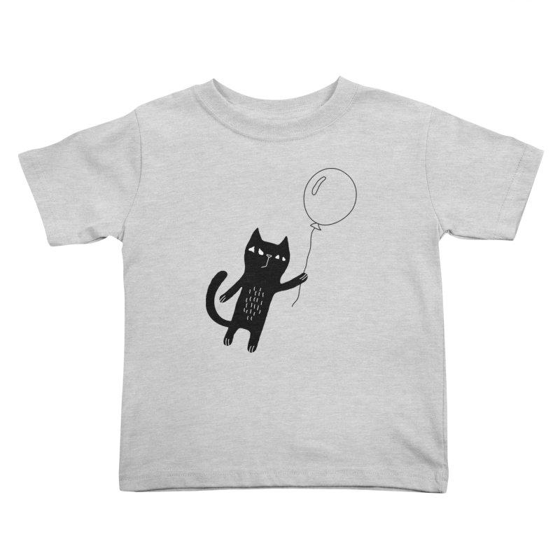 Flying Cat Kids Toddler T-Shirt by PENARULIT's Artist Shop