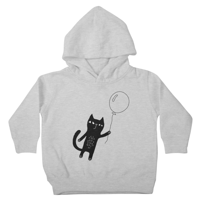 Flying Cat Kids Toddler Pullover Hoody by PENARULIT's Artist Shop