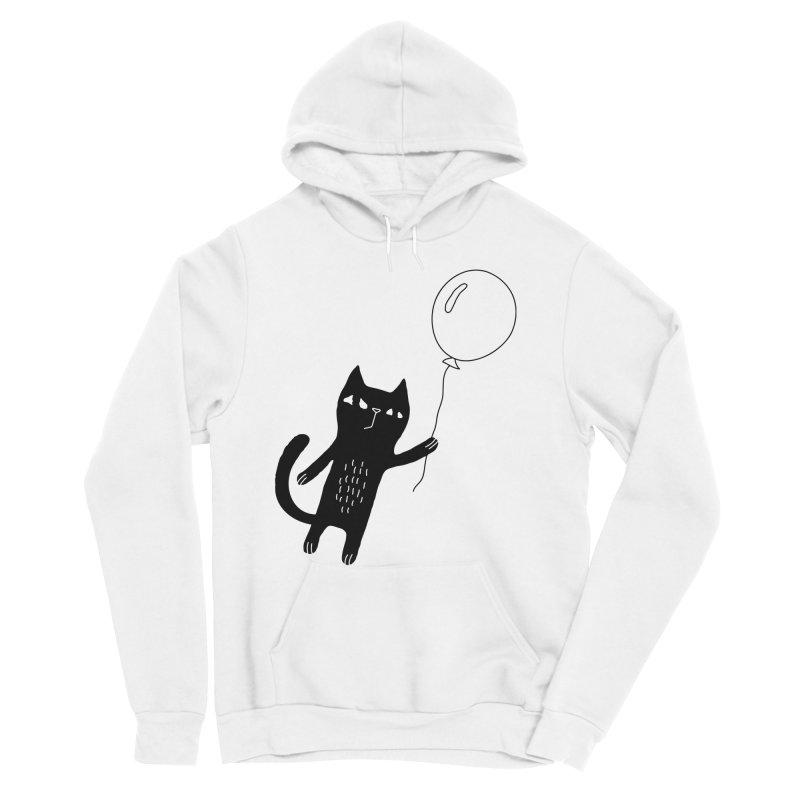 Flying Cat Men's Pullover Hoody by PENARULIT's Artist Shop