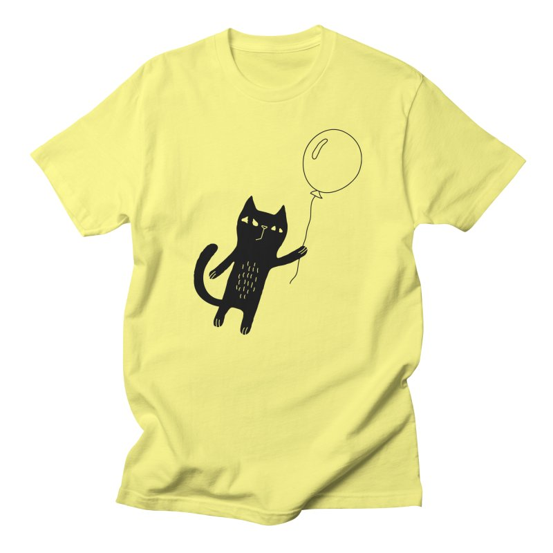 Flying Cat Women's T-Shirt by PENARULIT's Artist Shop