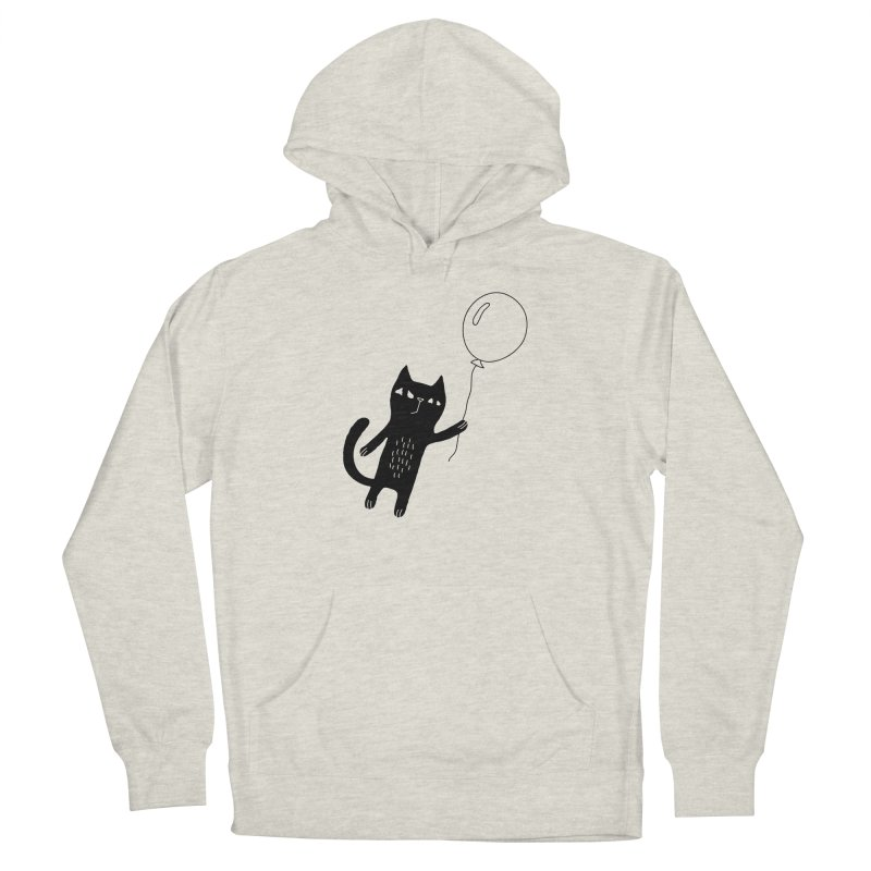 Flying Cat Women's Pullover Hoody by PENARULIT illustration