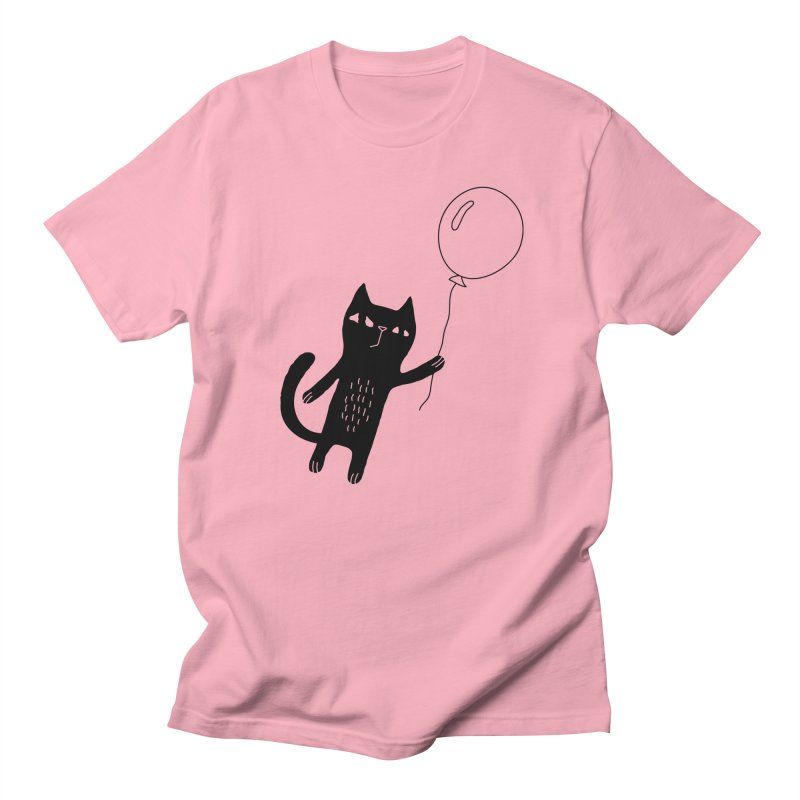 Flying Cat Women's Regular Unisex T-Shirt by PENARULIT illustration