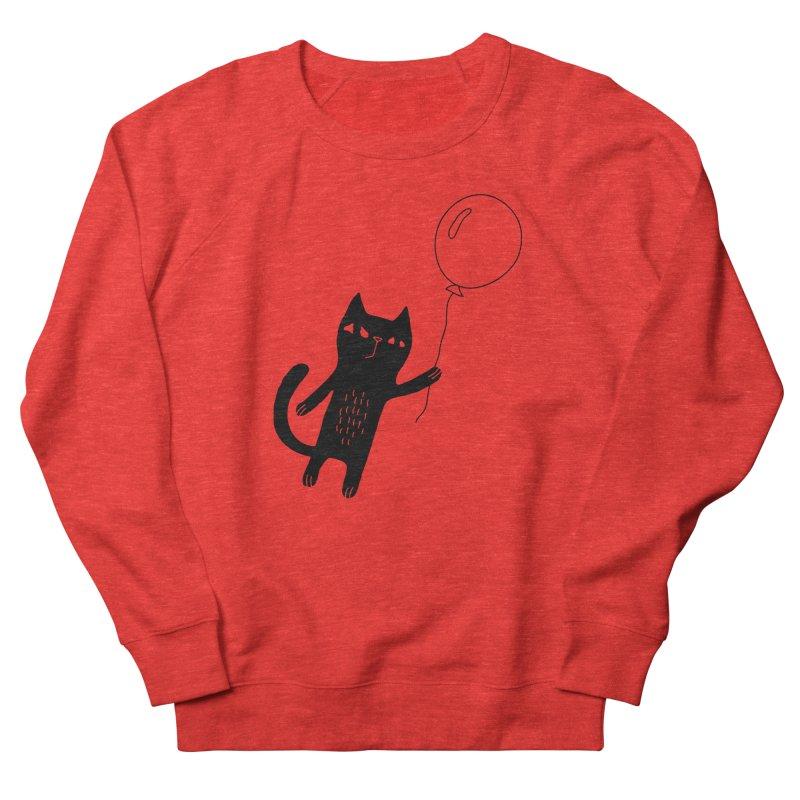Flying Cat Women's Sweatshirt by Ekaterina Zimodro's Artist Shop