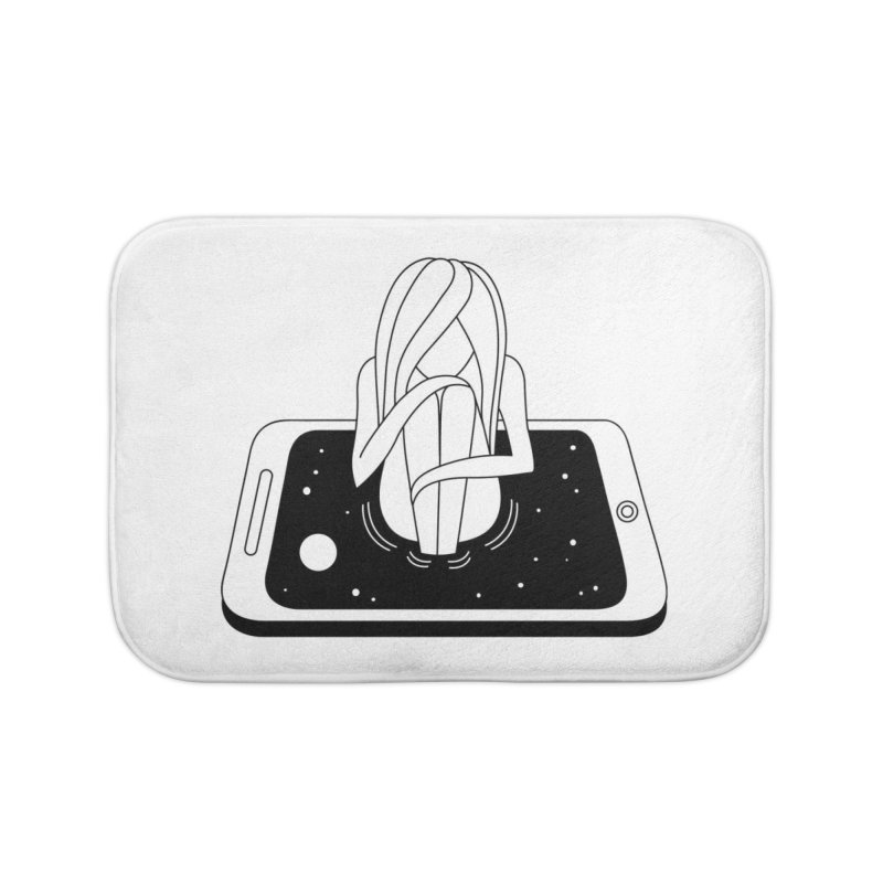 Internet Addiction Home Bath Mat by PENARULIT's Artist Shop