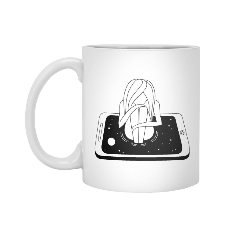 Internet Addiction Accessories Standard Mug by PENARULIT illustration