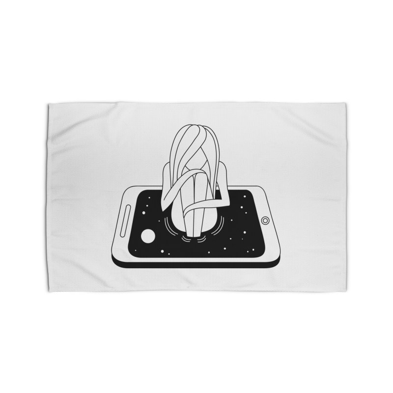Internet Addiction Home Rug by PENARULIT illustration