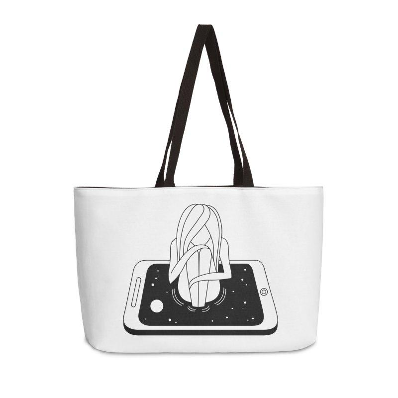 Internet Addiction Accessories Weekender Bag Bag by PENARULIT illustration