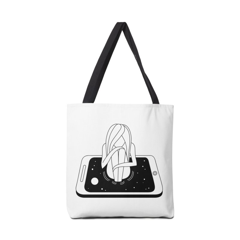 Internet Addiction Accessories Bag by PENARULIT illustration