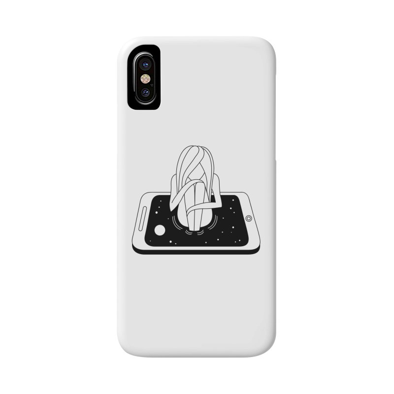 Internet Addiction Accessories Phone Case by Ekaterina Zimodro's Artist Shop