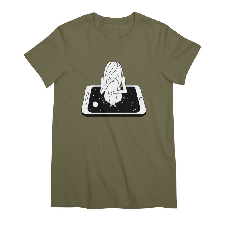 Internet Addiction Women's Premium T-Shirt by PENARULIT's Artist Shop