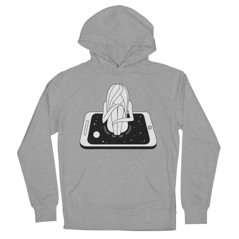 Internet Addiction Women's French Terry Pullover Hoody by PENARULIT's Artist Shop
