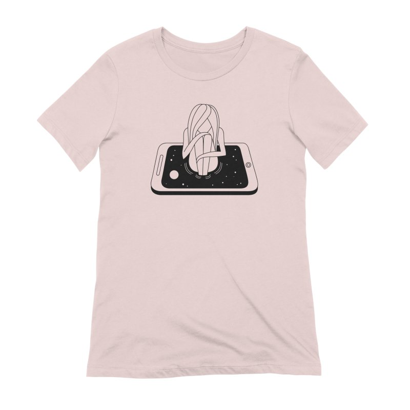 Internet Addiction Women's T-Shirt by PENARULIT illustration