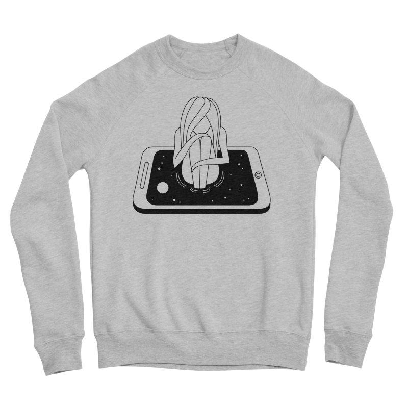 Internet Addiction Men's Sponge Fleece Sweatshirt by Ekaterina Zimodro's Artist Shop