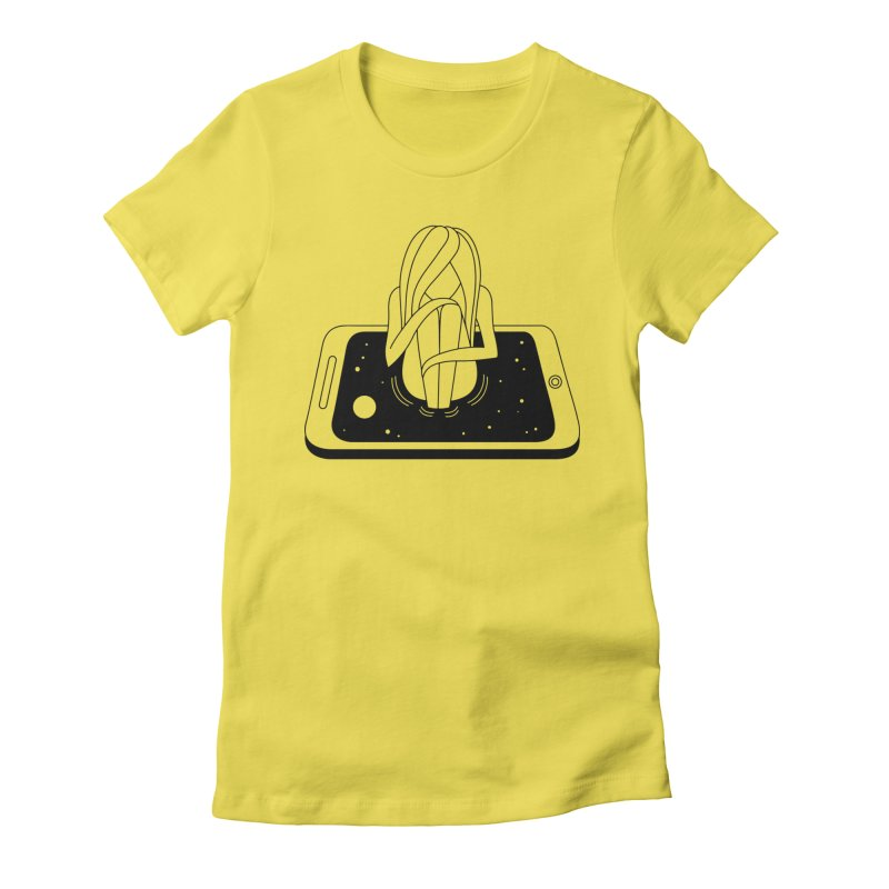 Internet Addiction Women's T-Shirt by PENARULIT illustration