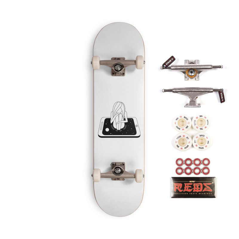 Internet Addiction Accessories Complete - Pro Skateboard by PENARULIT illustration