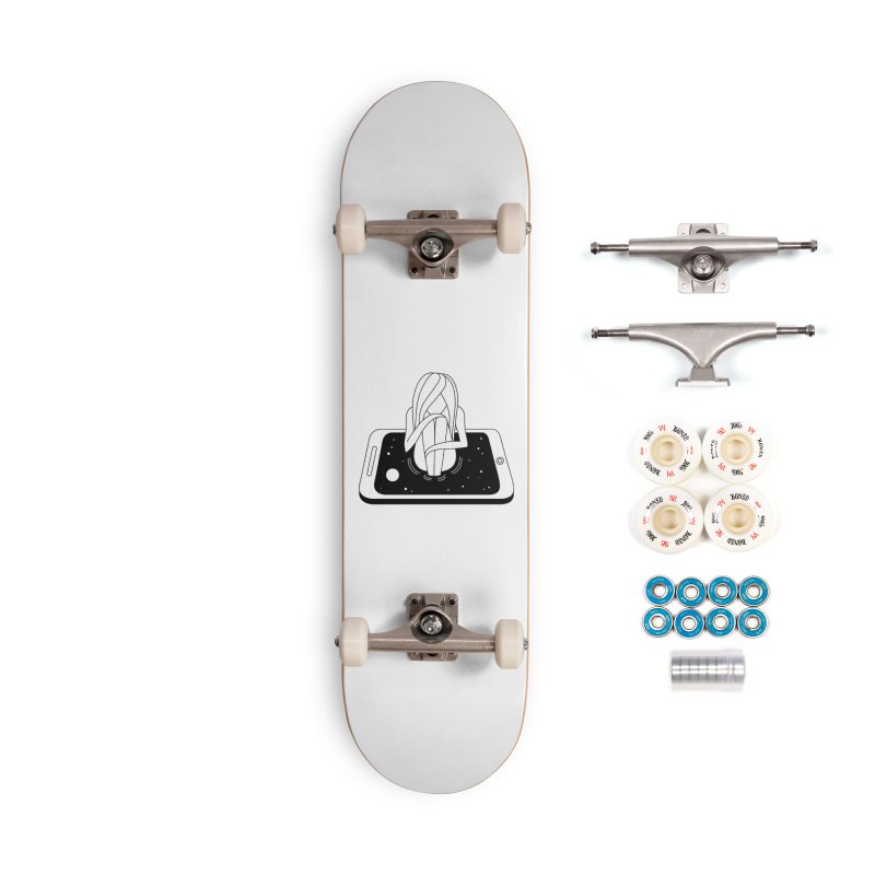 Internet Addiction Accessories Complete - Premium Skateboard by PENARULIT illustration