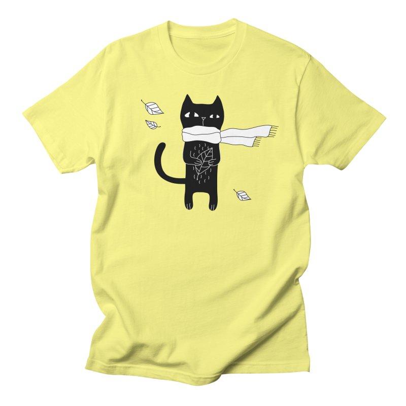 Black Cat Women's T-Shirt by PENARULIT's Artist Shop