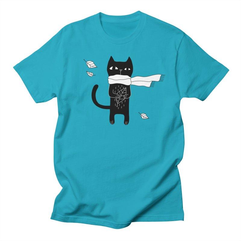 Black Cat Women's Regular Unisex T-Shirt by PENARULIT's Artist Shop