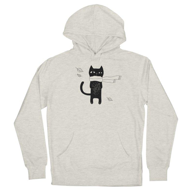 Lonely Cat Men's Pullover Hoody by PENARULIT illustration