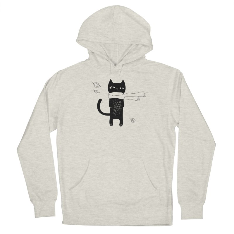 Lonely Cat Women's Pullover Hoody by PENARULIT illustration