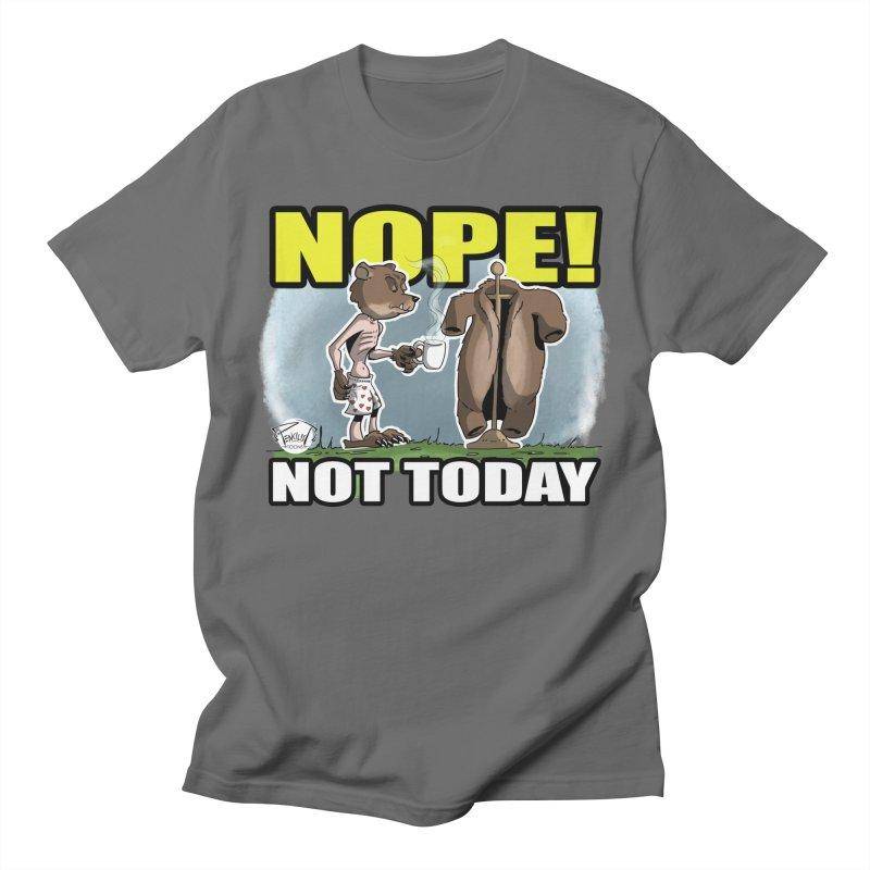 NOPE! Men's T-Shirt by pencilistoons's Artist Shop