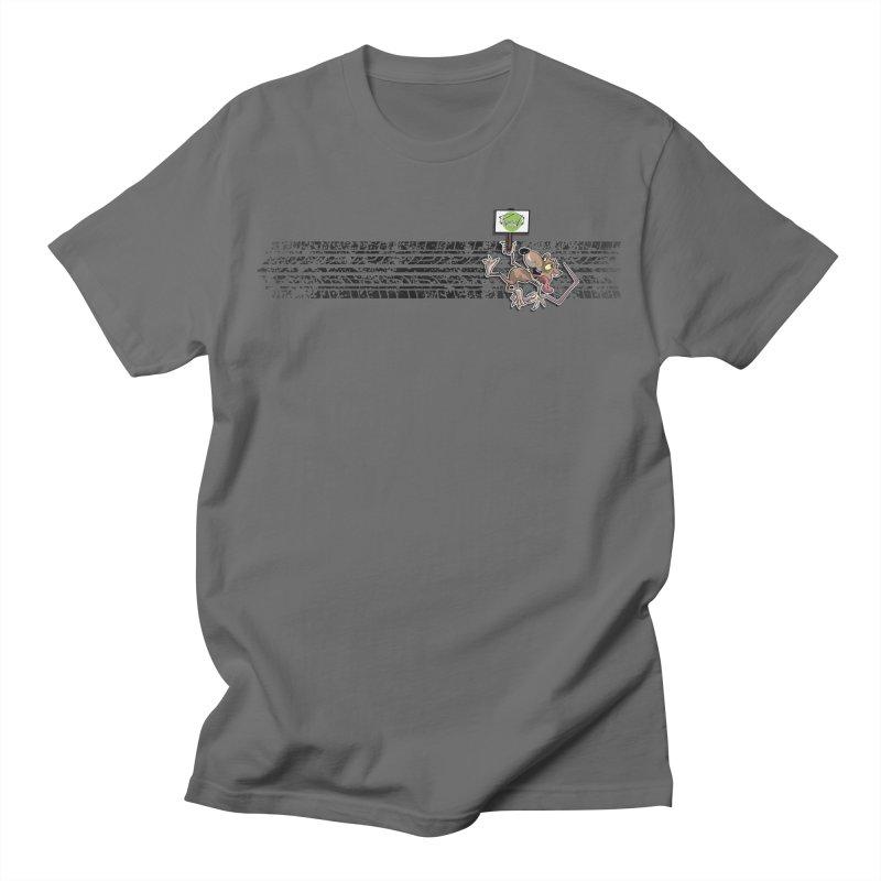 ROAD SQUISH   Horizontal Print Men's T-Shirt by pencilistoons's Artist Shop