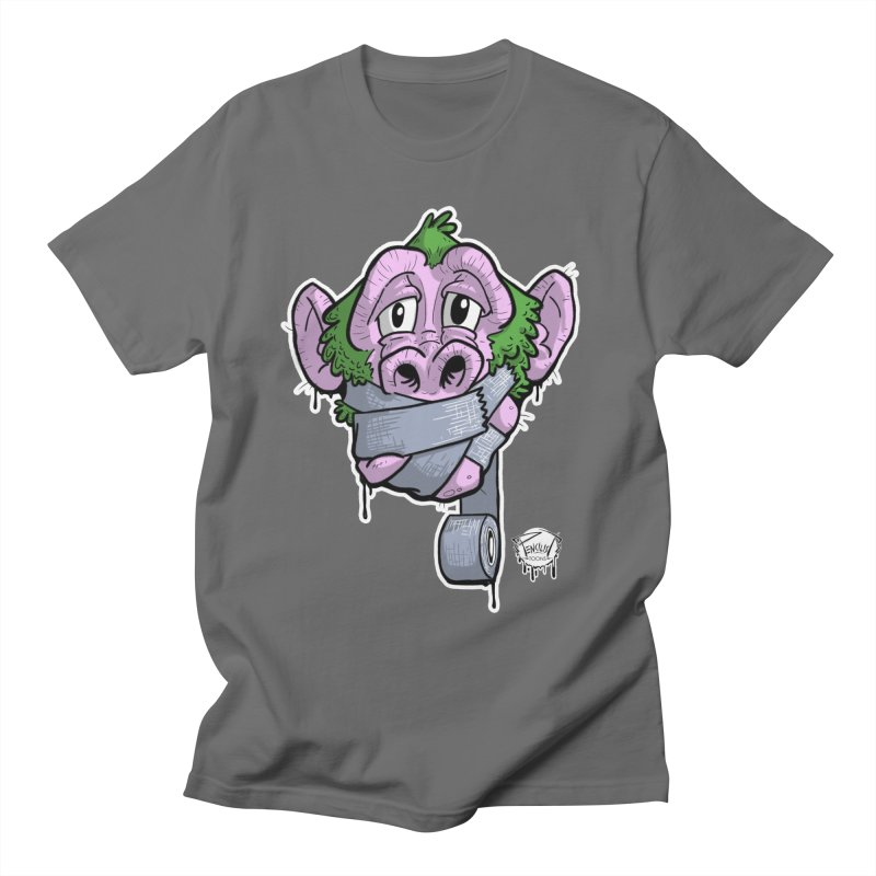 SPEAK NO EVIL | 1 of 4 | color print Men's T-Shirt by pencilistoons's Artist Shop