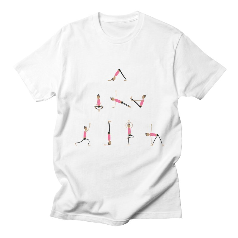 All you need is... yoga Men's Regular T-Shirt by IreneL's Artist Shop