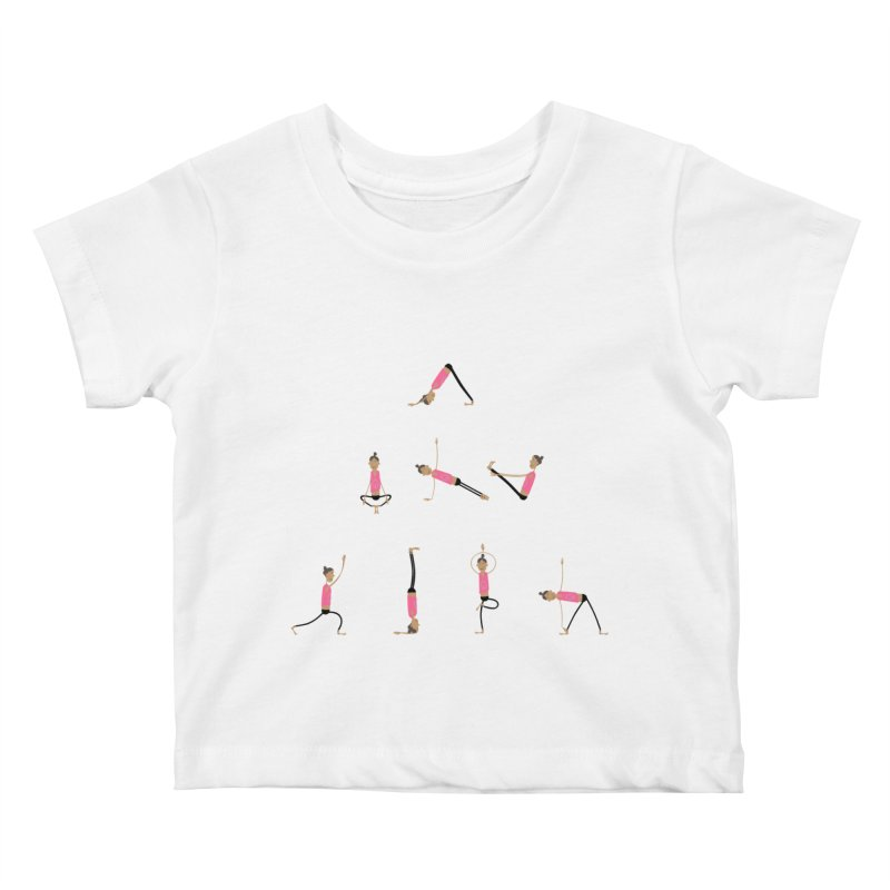 All you need is... yoga Kids Baby T-Shirt by IreneL's Artist Shop