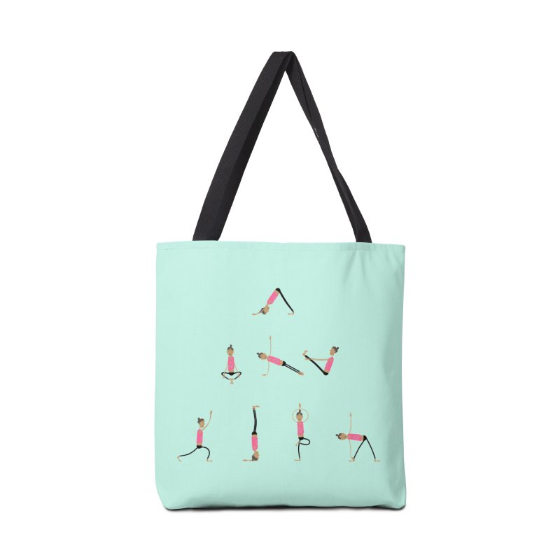 All you need is... yoga Accessories Tote Bag Bag by IreneL's Artist Shop