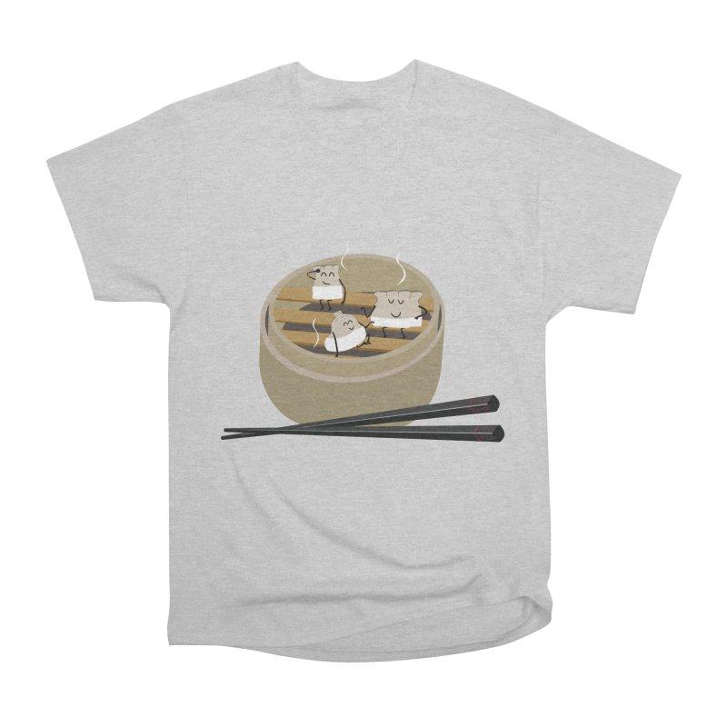 Steam room Men's Heavyweight T-Shirt by IreneL's Artist Shop