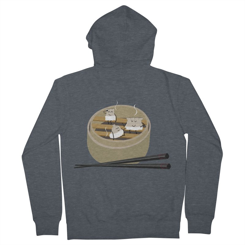 Steam room Women's French Terry Zip-Up Hoody by IreneL's Artist Shop