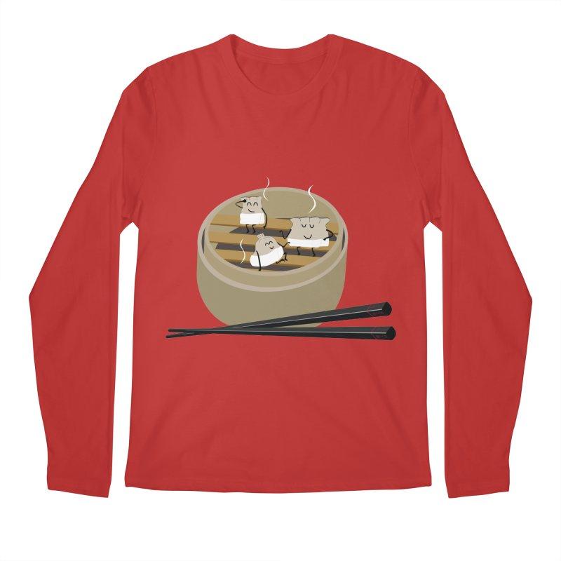 Steam room Men's Regular Longsleeve T-Shirt by IreneL's Artist Shop
