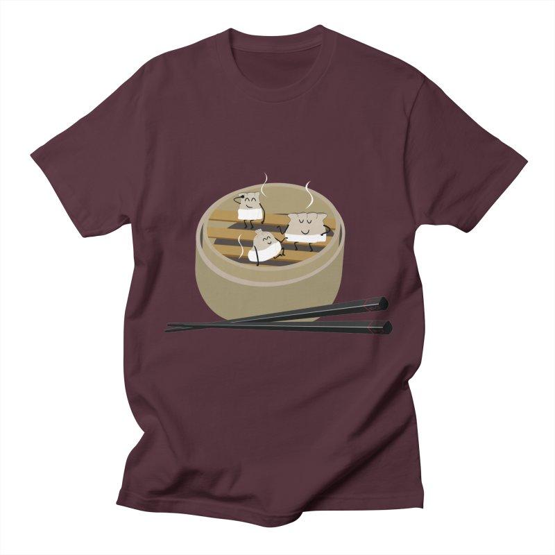 Steam room Women's Regular Unisex T-Shirt by IreneL's Artist Shop