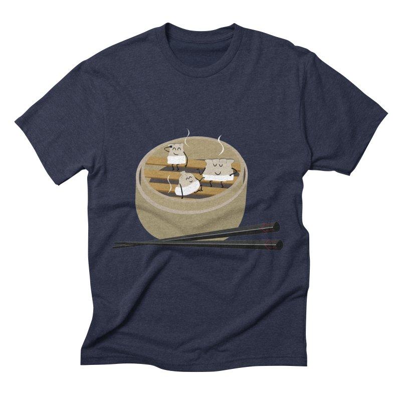 Steam room Men's Triblend T-Shirt by IreneL's Artist Shop