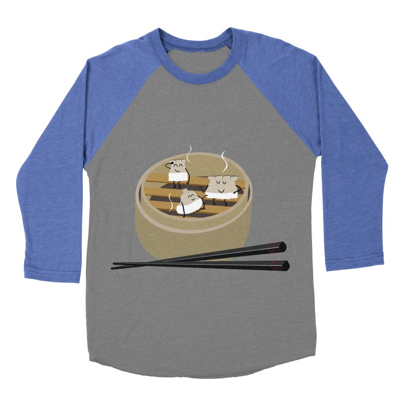 Steam room Women's Baseball Triblend Longsleeve T-Shirt by IreneL's Artist Shop