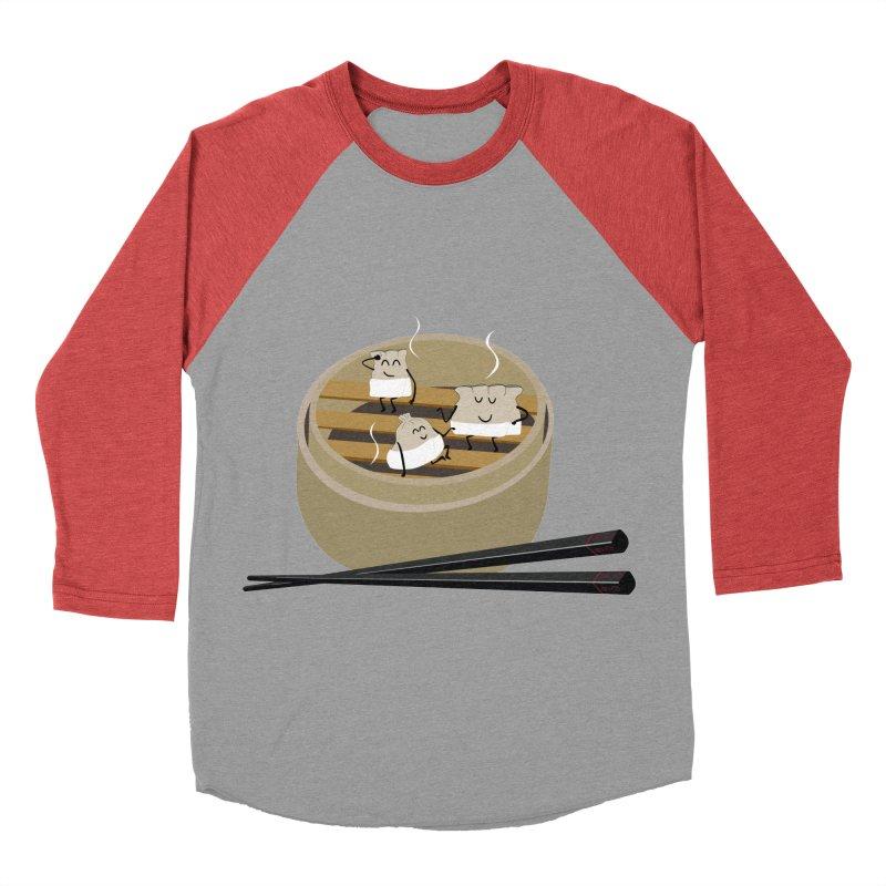 Steam room Men's Baseball Triblend Longsleeve T-Shirt by IreneL's Artist Shop